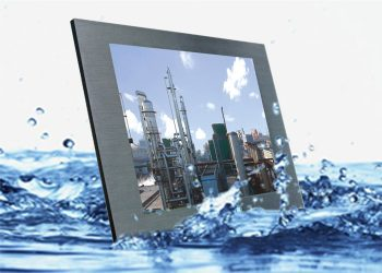 Waterproof 6.5 Inch Electronic LCD Monitor