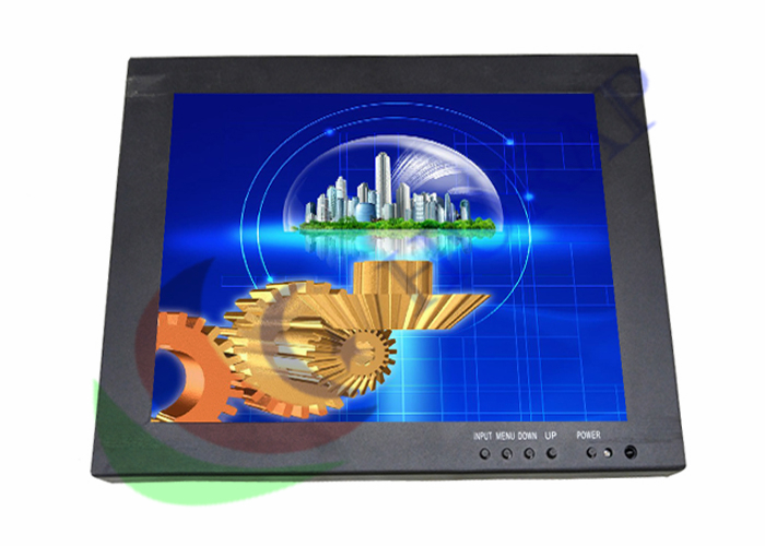 Rugged 10.4 Inch Touch Screen Industrial LCD Monitor