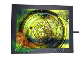 "12.1"" 2.4G Wireless Video LCD Monitor Screen High Brightness"