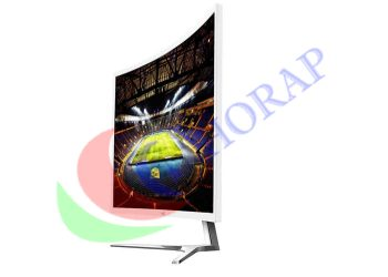 full hd industrial curved lcd display screen monitor