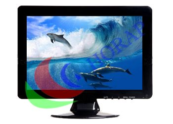 TFT Color Video 15 Inch LCD CCTV Monitor