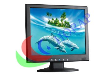 Square 19 Inch LCD Monitor for CCTV Camera