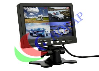 7 Inch CCTV Video LCD Display BNC