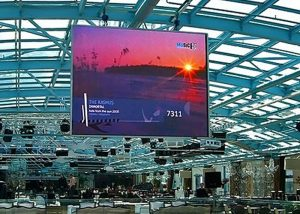 indoor hanging rental led display screen p3.91