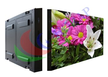 digital outdoor led video display panel iron steel