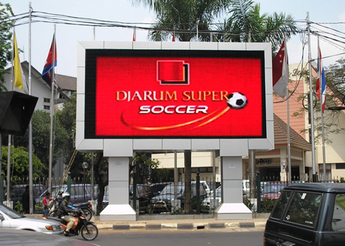 p8 outdoor led video panel for ads