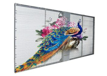 transparent led glass video wall